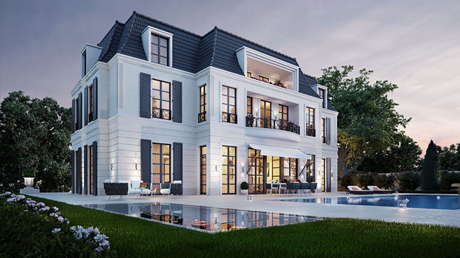 Einfamilien Villa | München Altbogenhausen | M-CONCEPT Real Estate ...