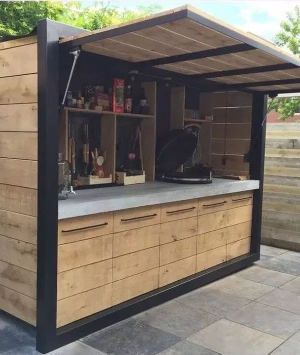 outdoor kitchen ideas on a budget affordable small and diy outdoor kitchen ideas diy on outdoor kitchen ideas on a budget id=76625