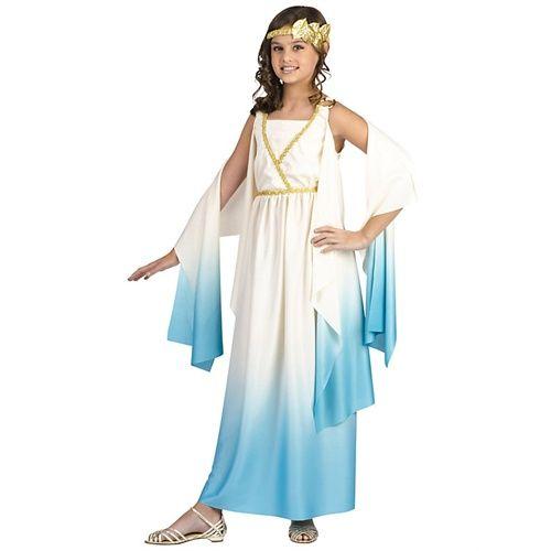 Greek Goddess Costume for Girls costumes Pinterest Greek