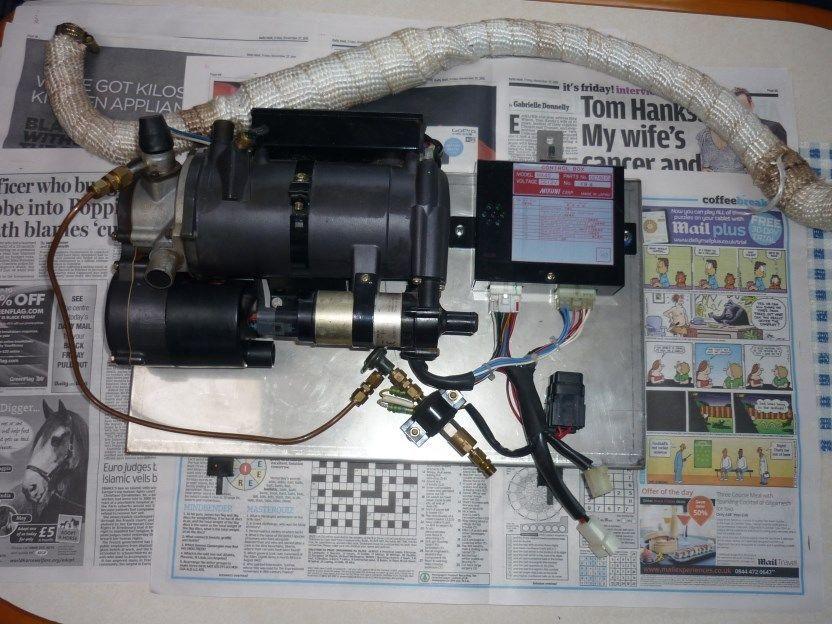 Mikuni MX40 Diesel Heater. 12V. Excellent condition. Full