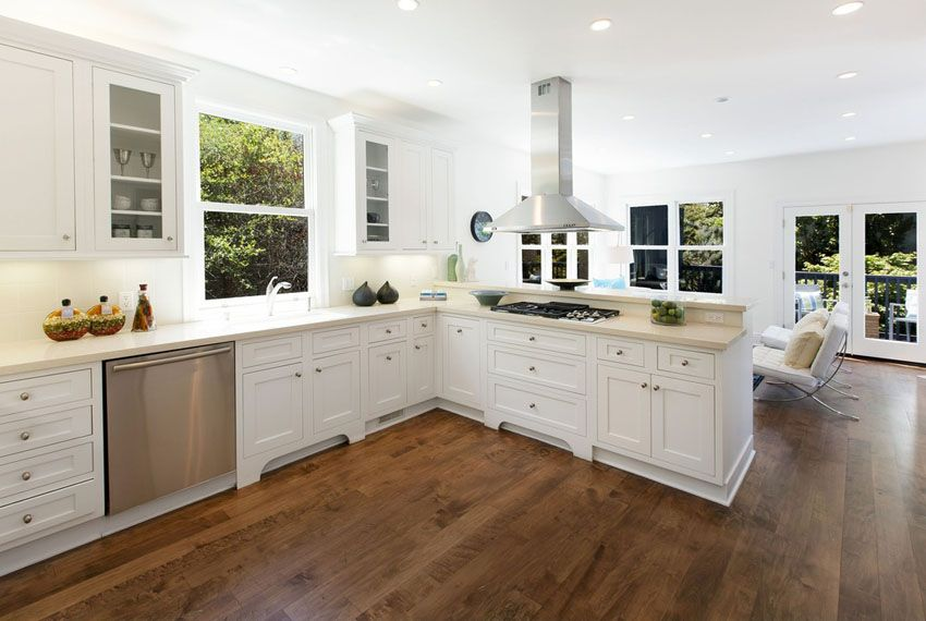 Hardwood Floors in the Kitchen Pros and Cons  Kitchen