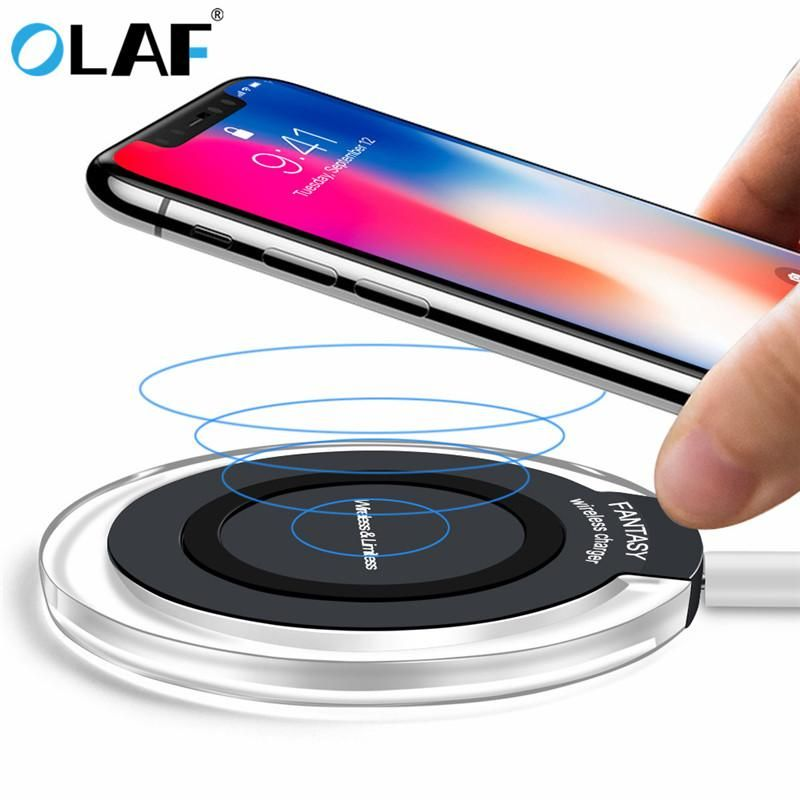 Wireless Charger Iphone X Ultra Slim,Fast Wireless Charger