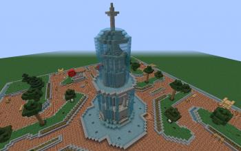Moderne Grand Brunnen Minecraft Building Pinterest Minecraft