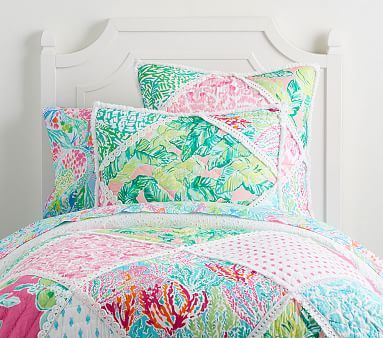 352172bb72a957 Lilly Pulitzer Party Patchwork Quilt in 2019 | Coveted Things ...
