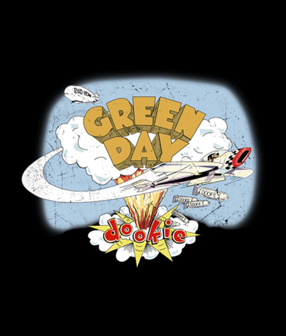 Green Day Sweatshirt Dookie Unisex Size S M L Xl 2xl 3xl Green Day Logo Green Day Dookie Green Day