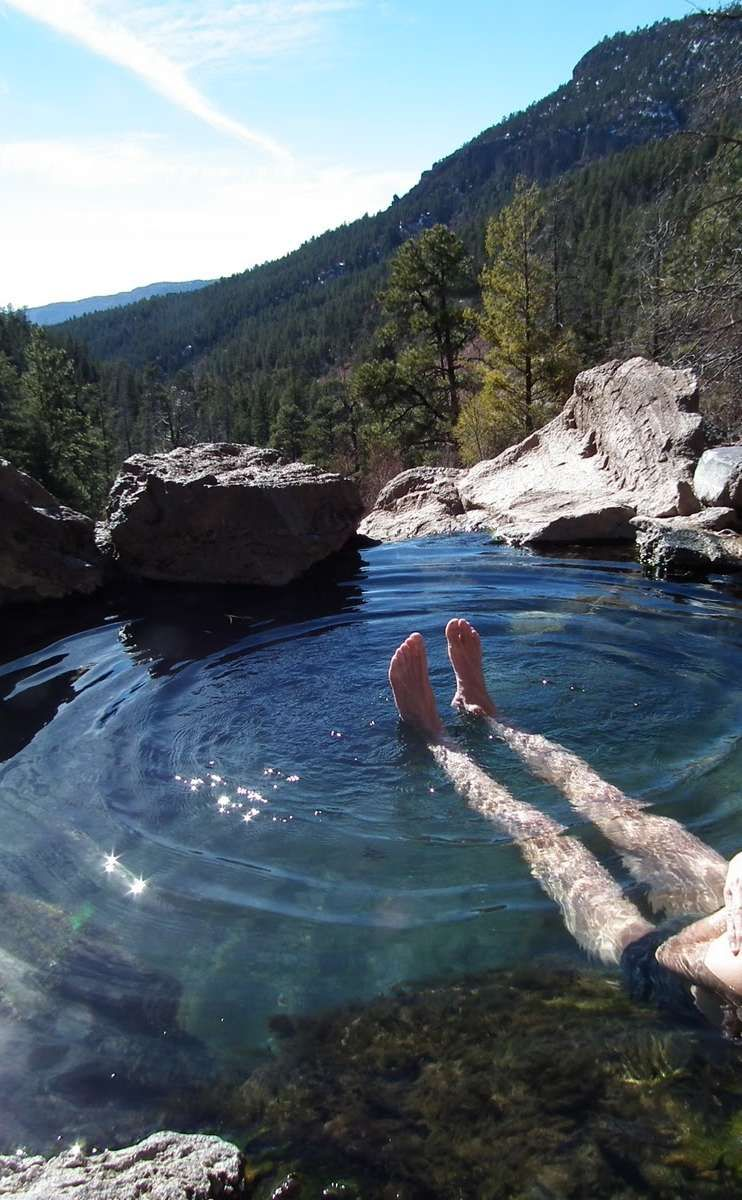 Spence Hot Springs Travel Vacation Ideas Road Trip Places To Visit Jemez Nm Natural Feature Hiking Area
