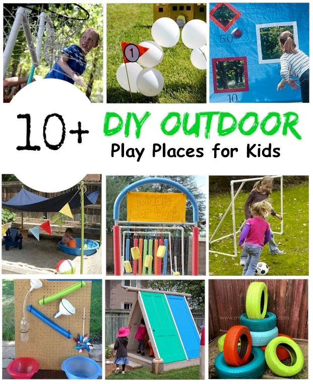 Backyard Play Places For Kids (With Images)