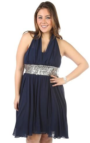 plus size illusion halter sequin prom dress  prom dresses