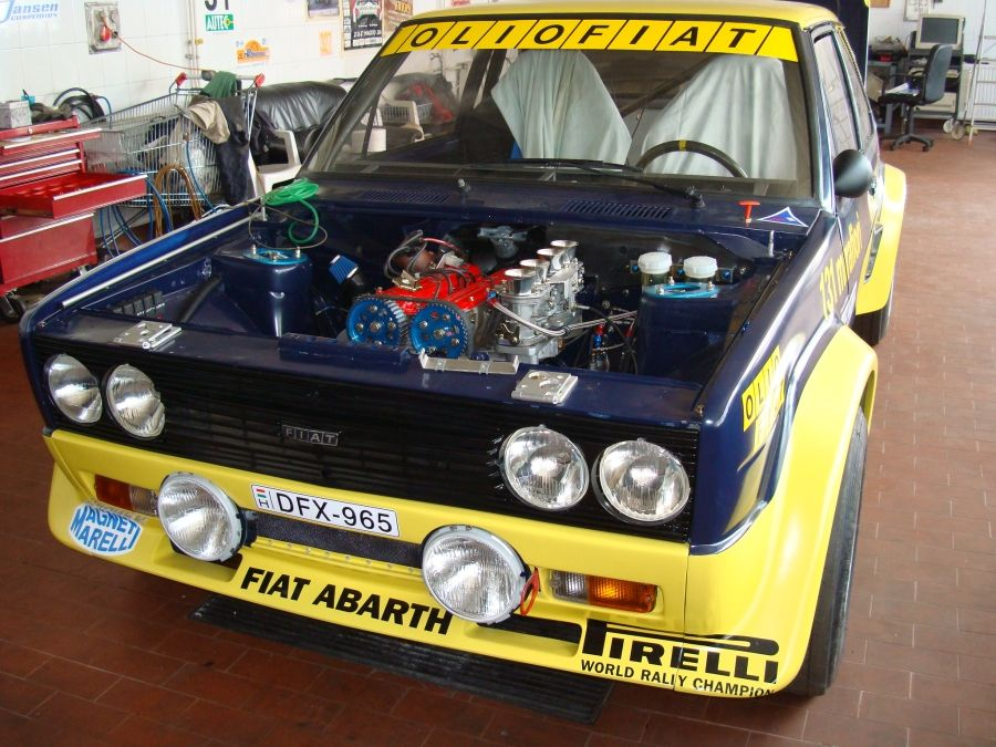 Racecarads Race Cars For Sale Fiat Abarth 131 For Sale