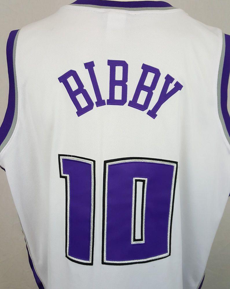 8b35f233 Sacramento Kings Mike Bibby #10 Reebok NBA Sewn White Men's Jersey 50 2XL # Reebok #SacramentoKings #KINGS #BIBBY #NBA #EBAY