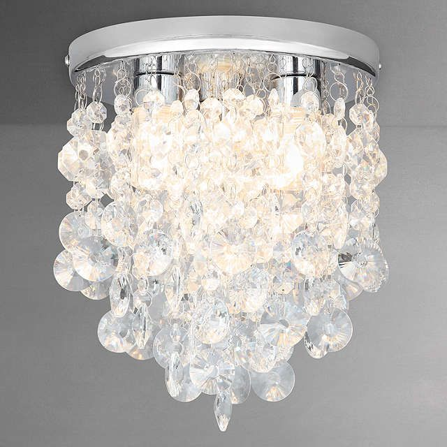 John lewis katelyn crystal bathroom flush ceiling light ceiling john lewis katelyn crystal bathroom flush ceiling light ceiling lighting online and john lewis aloadofball Choice Image