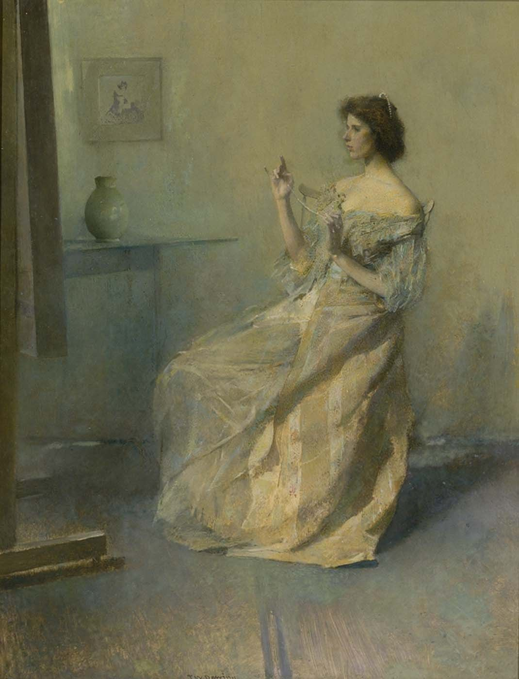 Thomas Wilmer Dewing – American Impressionist at American Museum | American Art Museum