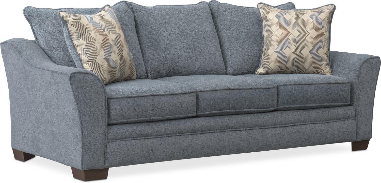 Trevor Sofa In 2020 Value City Furniture Sleeper Sofa Modern