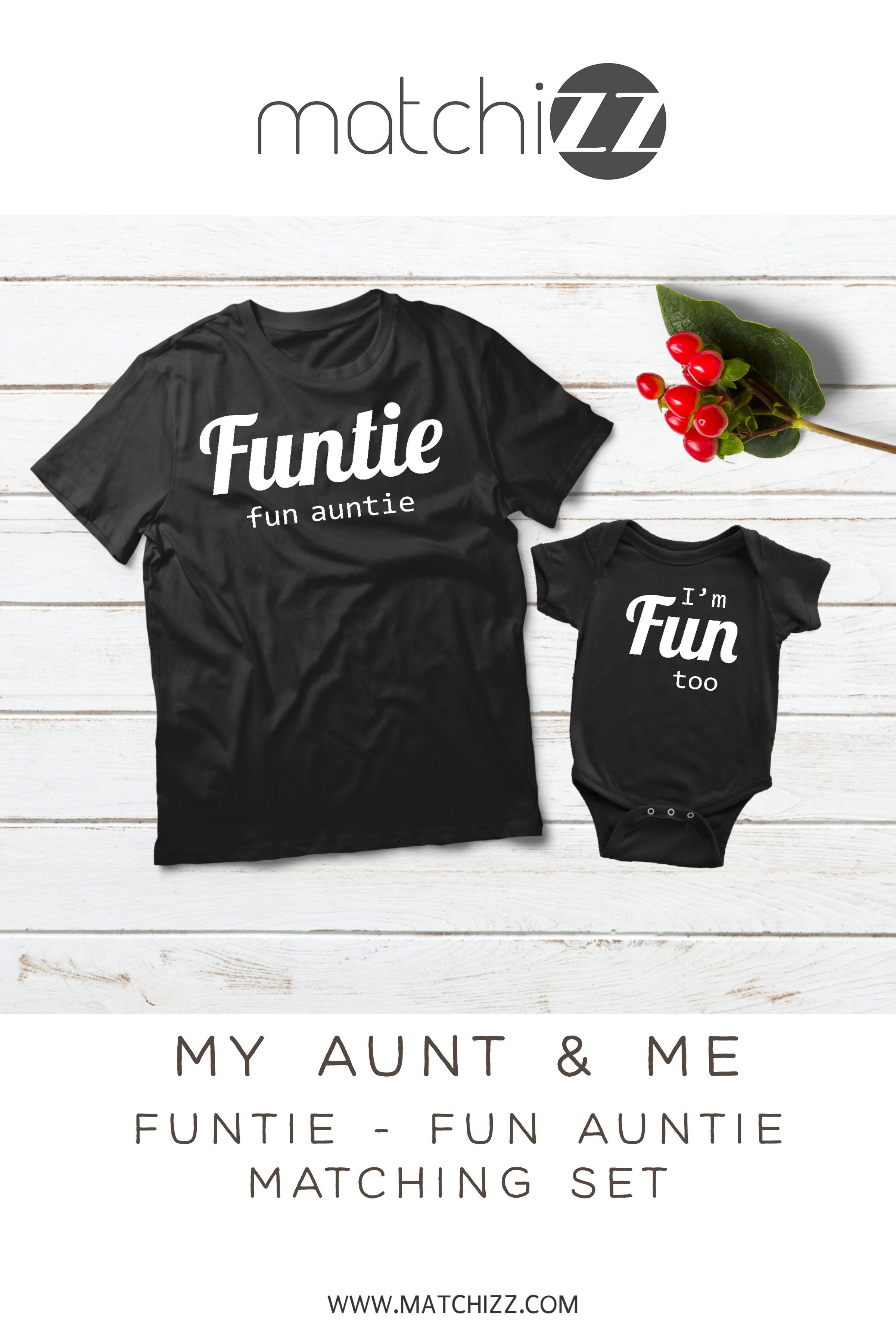 a75e37c5ab Funtie Definition Aunt and Niece Nephew Shirts Auntie Gift #auntsshirts  #auntgifts #auntbabyclothes #auntniece #auntquotes #beinganaunt #funtie