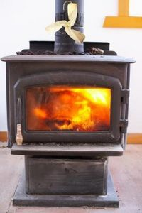 How To Clean A Wood Stove Chimney Flue Ehow Wood Burning Stove Wood Stove Wood Stove Installation