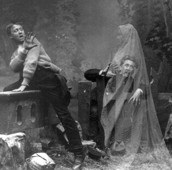 Victorian Spirit Photography   Haunted Western New York- Spirit Photography   Horrific Knits #spiritualist #spiritualism