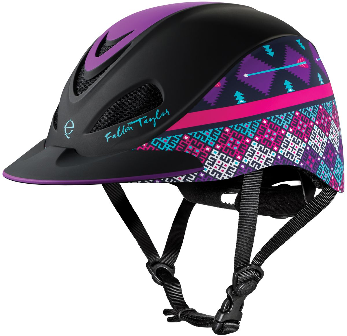 I Didn T Know This Helmet Existed Minden Fallon Taylor Riding Helmets Es Equestrian