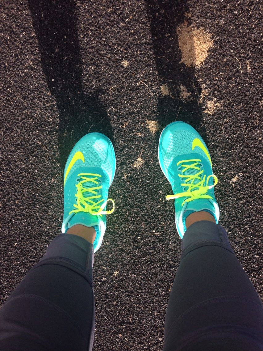 Nike Fitsole running shoes! I have these in another color and loooovvveee them!!