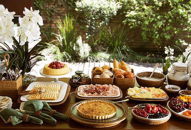 Como preparar um brunch dicas pra servir brunch mesas for Servir comida