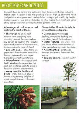 Rooftop Gardening Article