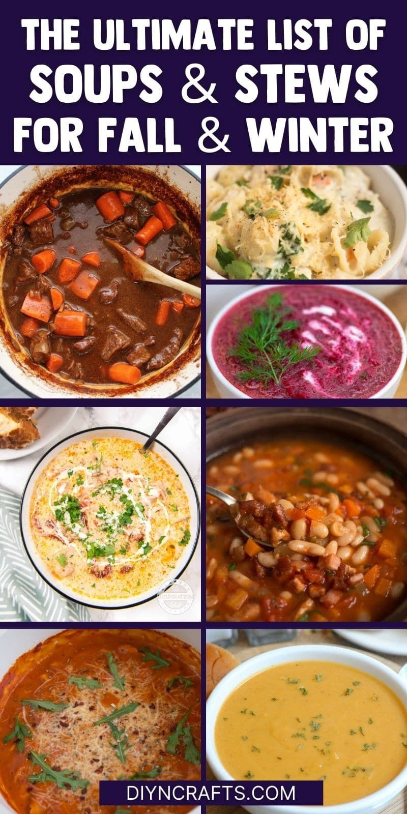 30 Delicious Soup Stew Recipes That Are Packed With Flavor Recipe In 2020 Soups And Stews Classic Stew Recipe Stew Chicken Recipe