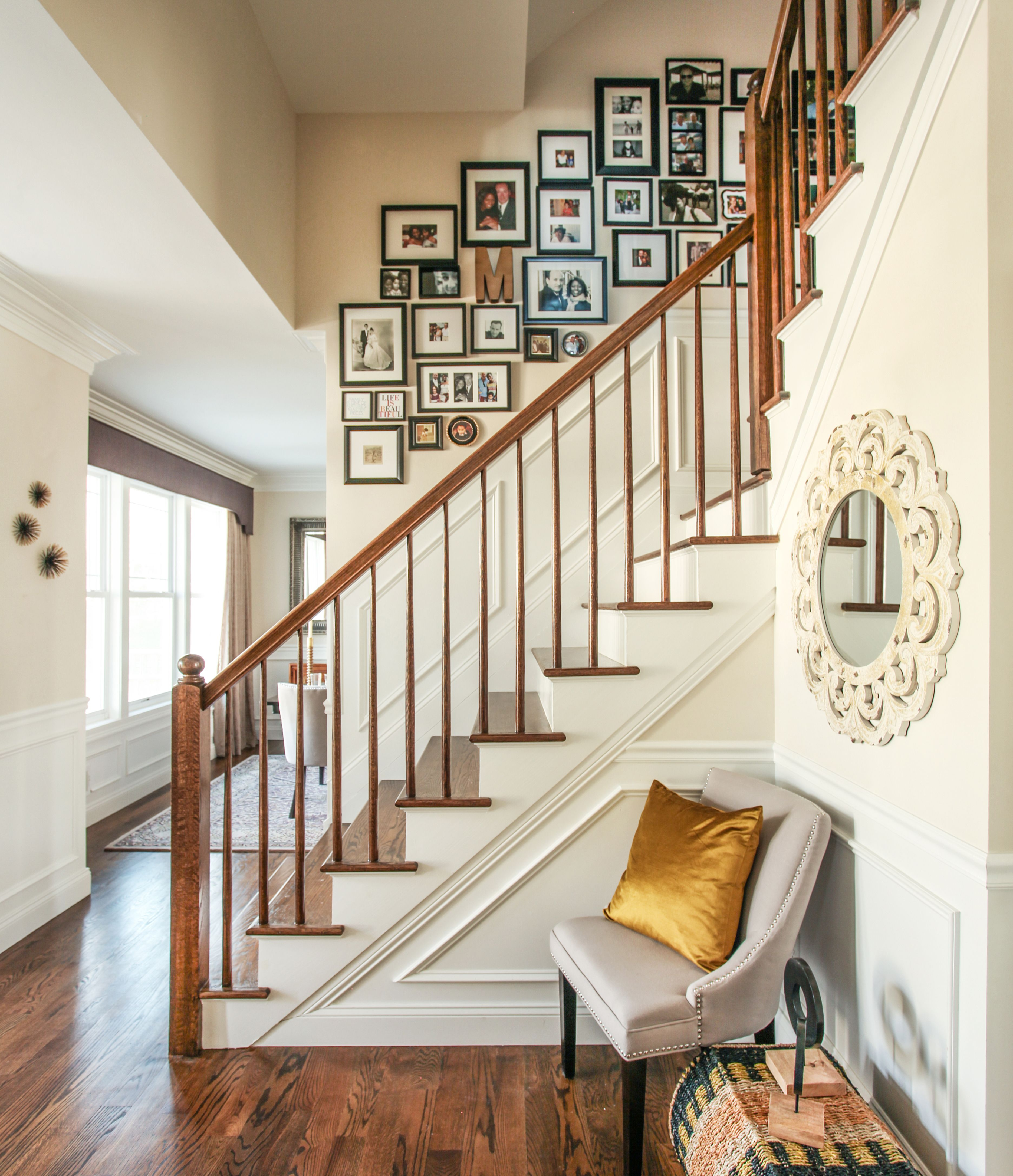 The New York Transplants Formal Living Rooms Home Decor Staircase