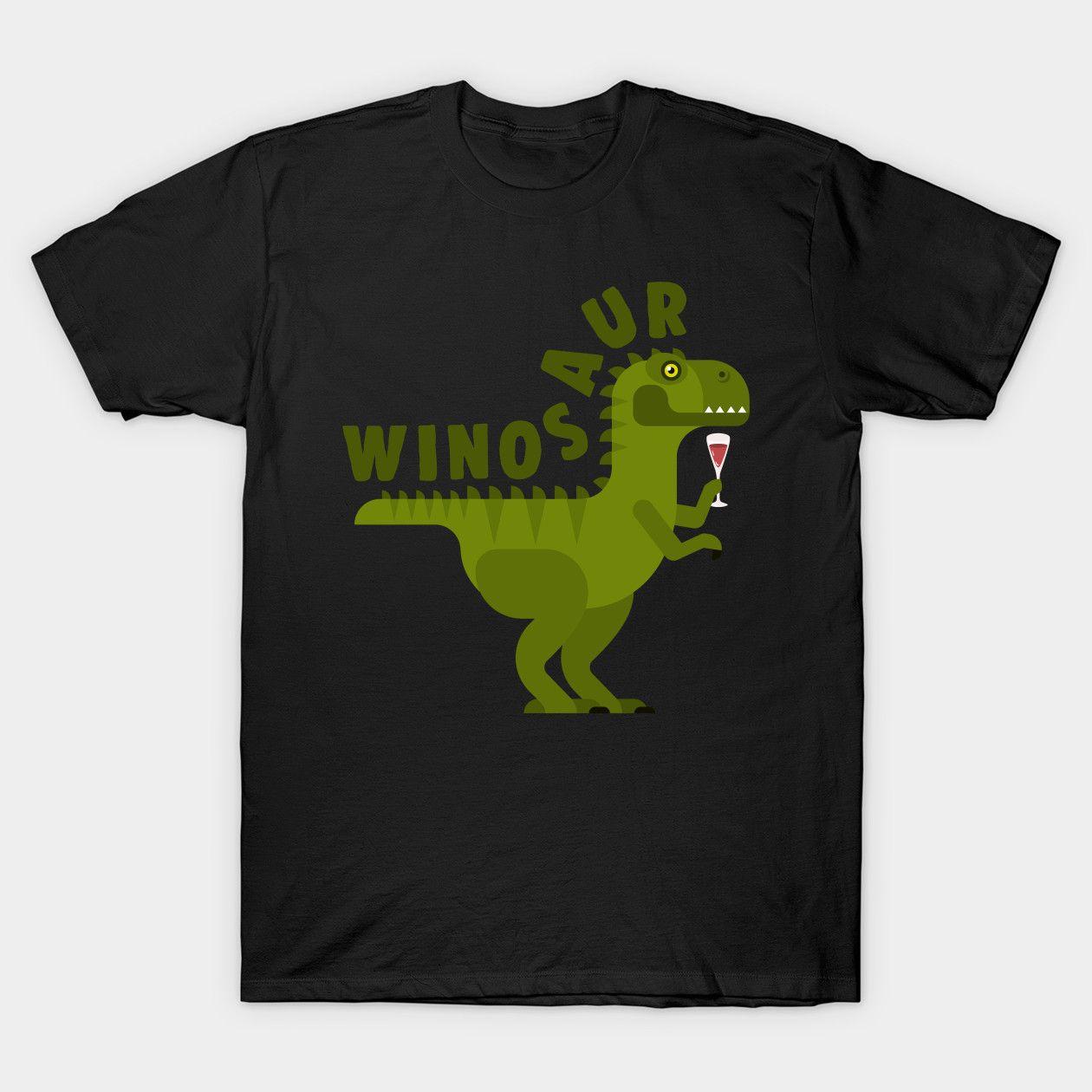 Winosaur Wine Lovers Dinosaur Prehistoric Creature Wild Animals dinosaurs Classic T-Shirt #prehistoriccreatures