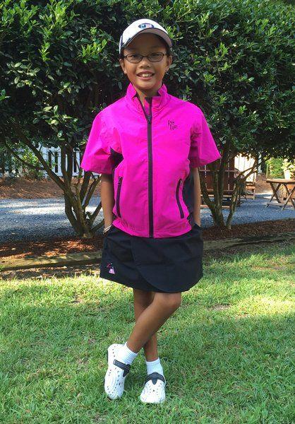Youth And Junior 1 2 Sleeve Rain Jacket Ladies Rain Gear For Golf Rain Jacket Girls Rain Gear Rain Gear