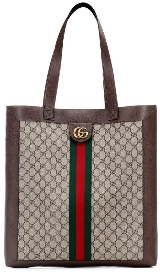 3ded88ae04b3 Gucci Ophidia GG Supreme Large tote | Products in 2019 | Gucci tote ...