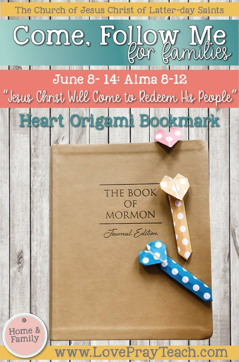 Pin On Come Follow Me 2020 For Families Book Of Mormon