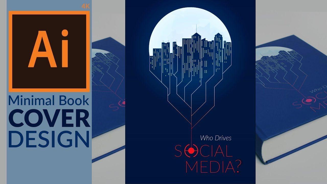 Minimal Book Cover Design In Adobe Illustrator Cc Minimal Book Book Cover Design Cover Design