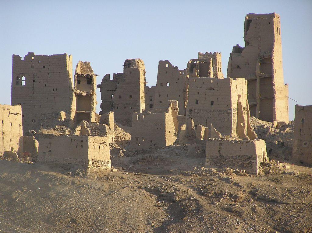 Ruins Of Old Ma Rib Ruins Yemen Historical Place