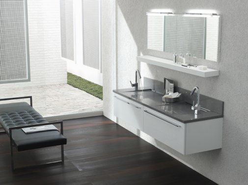 salle de bain moderne travaux Bathroom Pinterest