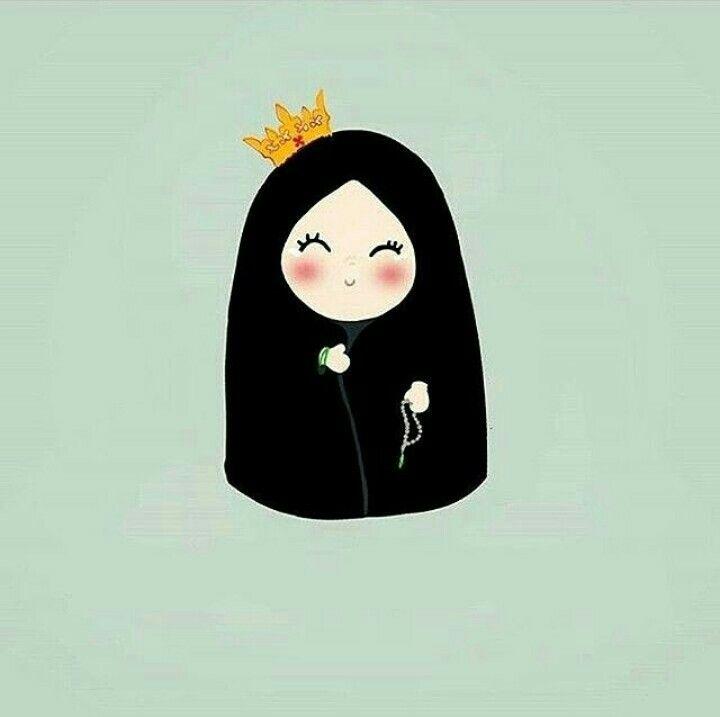 Pin By ملكه الاحساس On Eid Hijab Cartoon Anime Muslim Islamic Cartoon