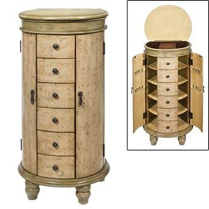 Jewelry Armoire Chest Selection at Costco Bedroom Furniture