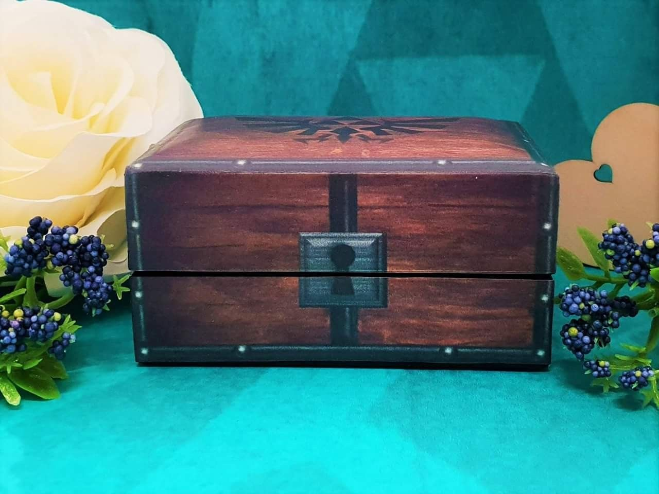 The Legend Of Zelda Double Wedding Ring Box Is Perfect For The Retro