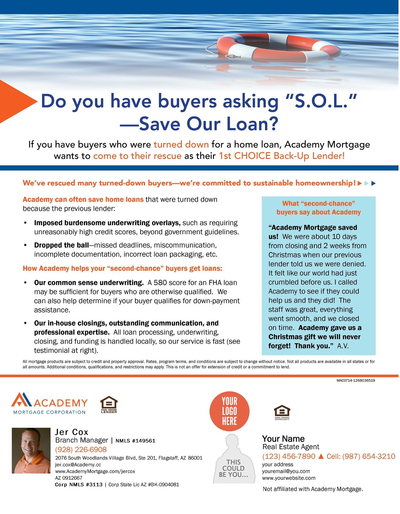 Save Our Loan Home Ownership Loan Commitment