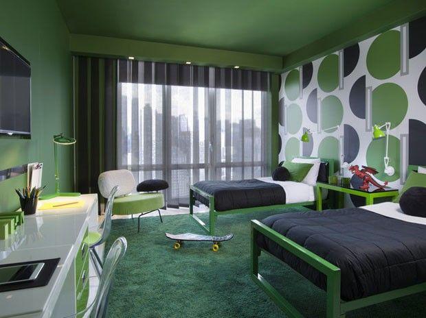 Apartamento em NY tem explosão de cores