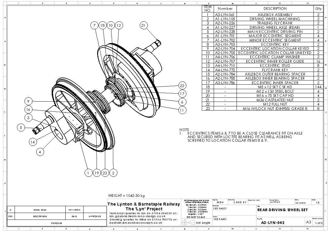 Rear Wheel Set Assembly Drawing Visit Page View Image
