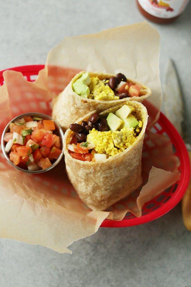 protein packed vegan breakfast burrito recipe vegan meal ideas