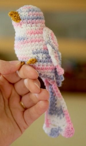 Crochet Bird Pattern | Bird patterns, Crochet bird patterns and ...