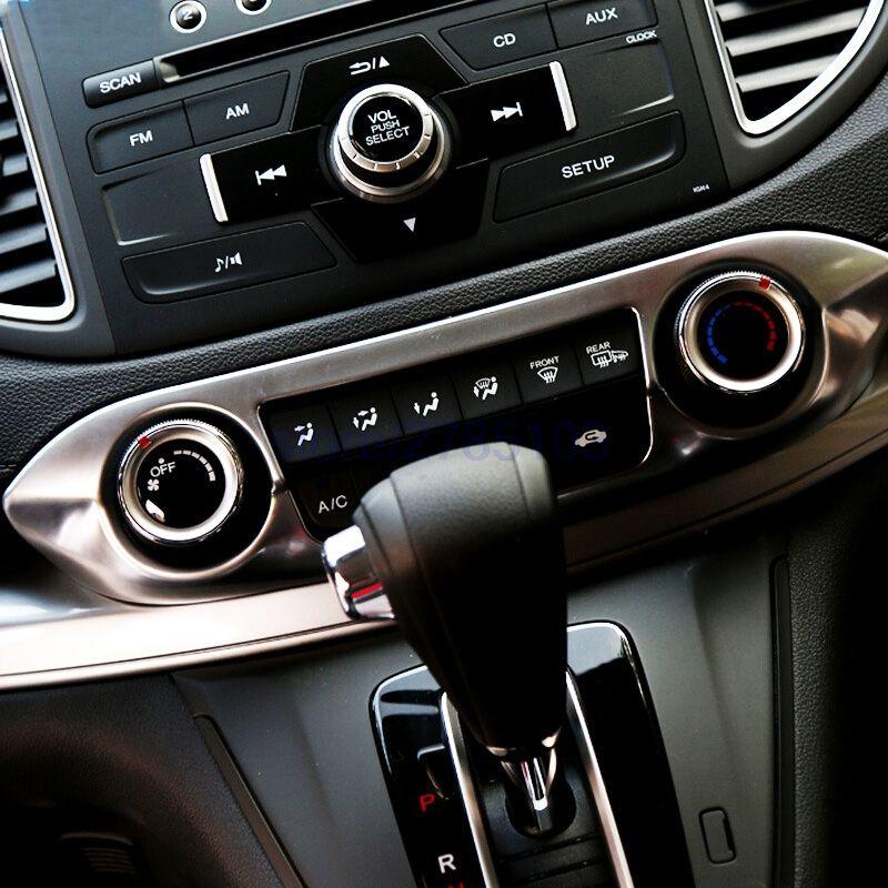 For Honda Crv Cr V 2012 2013 2014 Abs Chrome Front Air Conditioner