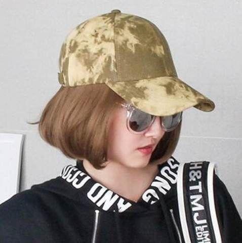 Hip hop tie dye baseball cap for teens travel sports wear it