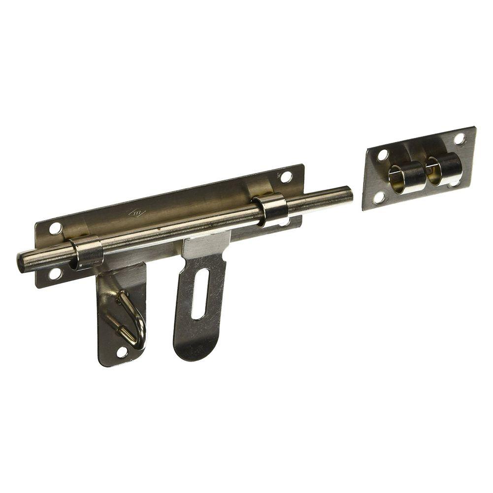 Stainless Steel Door Lock Latch Slide Barrel Bolt Clasp Set 10 Length Stainless Steel Doors Electrical Equipment Barrel