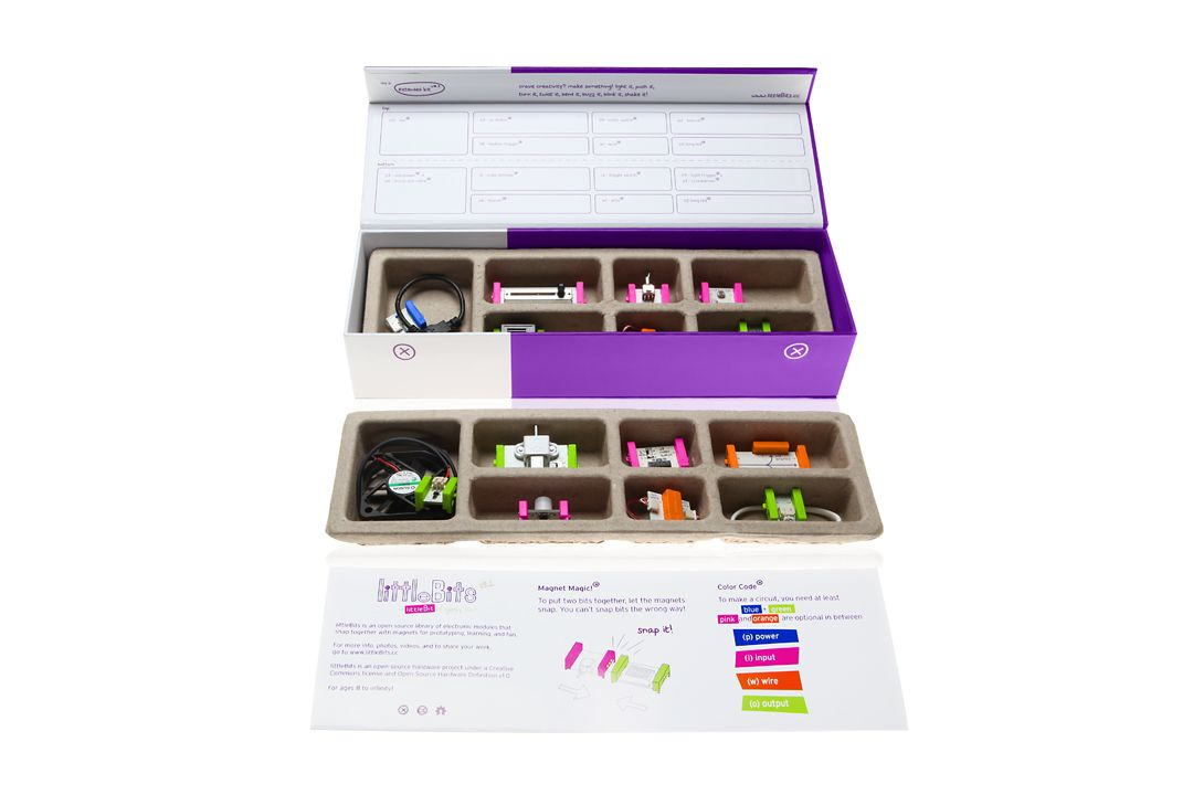 Rad gift for a budding engineer! littleBits is an opensource