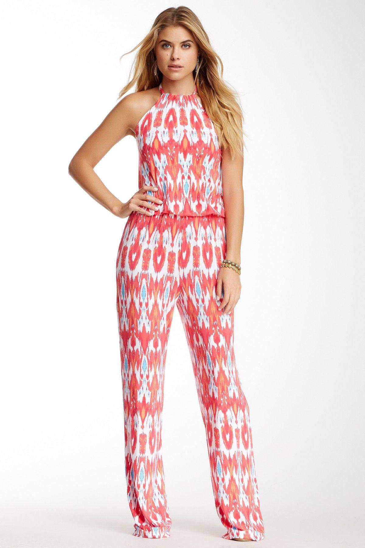 Ikat Halter Jumpsuit | Pinterest | Enterizo blanco, Femenino y Moda ...