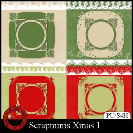 Scrapminis Xmas 1 (PU/S4H)