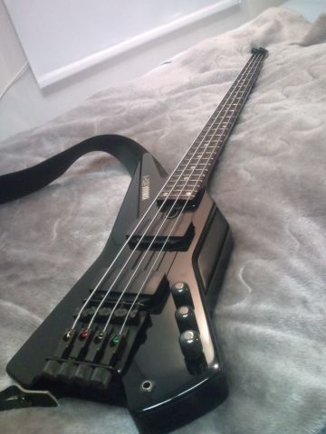 My wife had one of these. These are the coolest bass guitars ever. Custom made case to fit, it was awesome