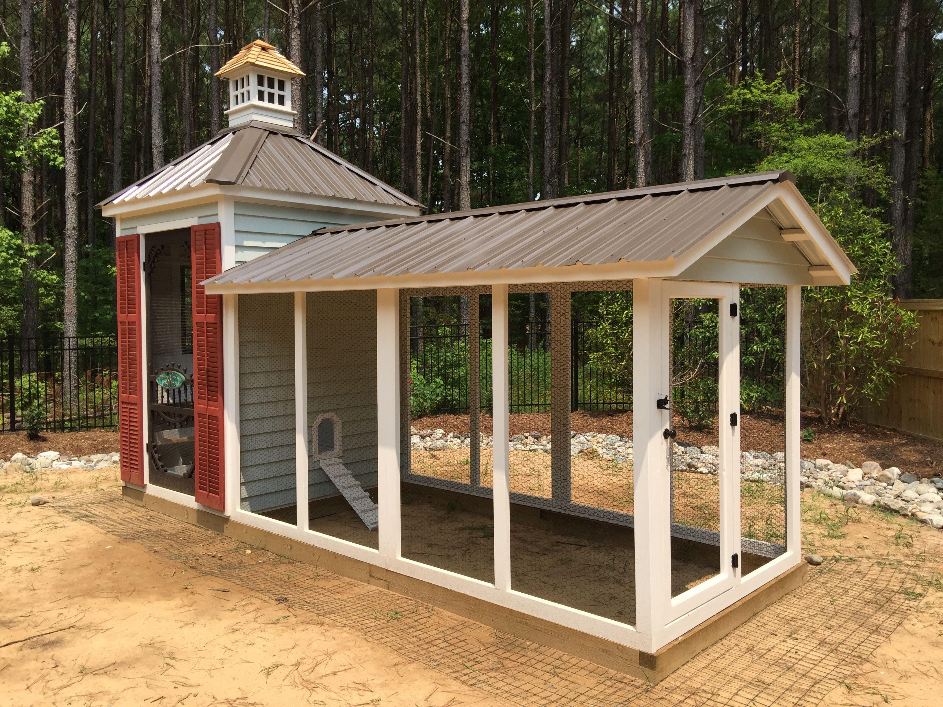 Carolina Chicken Coops | Chickens backyard, Backyard ...