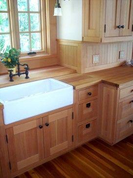 Douglas Fir Custom Kitchen Cabinetry Timber Kitchen Pine